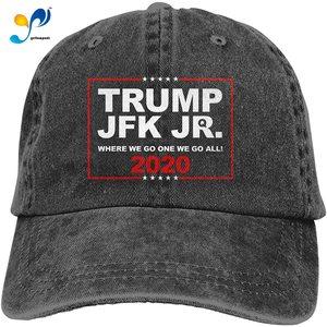 Trump JFK Jr Adjustable Baseball Caps Denim Hats Cowboy Sport Outdoor