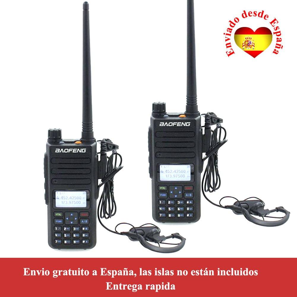 2 قطعة/الوحدة Baofeng DM-1801 ثنائي النطاق 136-174 و 400-470 ميجا هرتز DMR الرقمية راديو الطبقة 1 + 2 المزدوج الوقت فتحة اسلكية تخاطب