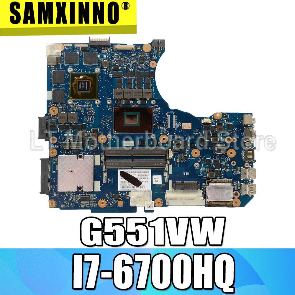 I7-6700HQ G551V motherboard Para For Asus N551V G551V FX551V G551VW N551VW laptop motherboard mainboard G551VW G551VW motherboard