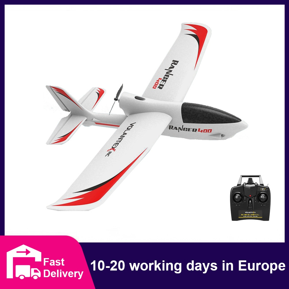 Volantex-طائرة يتم التحكم فيها عن بعد 761-6 ، 2.4 جيجا هرتز ، 3 قنوات ، جيروسكوب رينجر 400 RC ، طائرة شراعية EPP ، مدرب Warbird ، أجنحة ثابتة RTF ، مفتاح واحد ، دو...