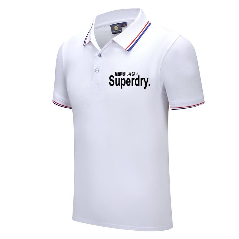 Camisa de Polo de los hombres Camiseta Hombre casuales de la moda...