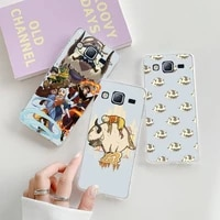 avatar the last airbender clear phone case transparent for samsung galaxy s note 8 9 11 20 10 pro e lite p plus a81
