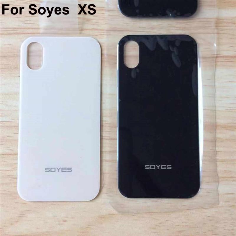 Carcasa trasera de la cubierta trasera de la batería 100% nueva para Soyes XS mini cubierta trasera de la batería del teléfono para soyes x s soyesXS piezas de repuesto