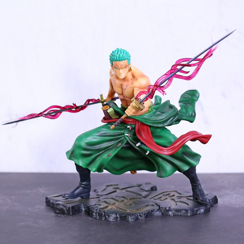 Аниме One Piece Roronoa Zoro SA-MAXIMUM Special Ver. ПВХ Фигурки Коллекционная модель игрушки