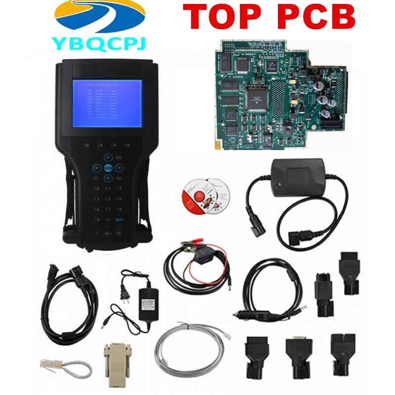 Tech2 diagnóstico para GM Tech 2 escáner para Saab Tech II para Opel añadir TARJETA DE 32MB (para GM/SAAB/OPEL/SUZUKI/Holden/ISUZU )TIS2000