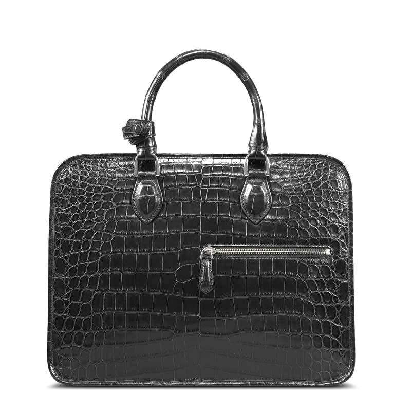 Cestbeau Nile crocodile  Whole leather crocodile leather  man bag crocodile bag side one shoulder business briefcase men handbag