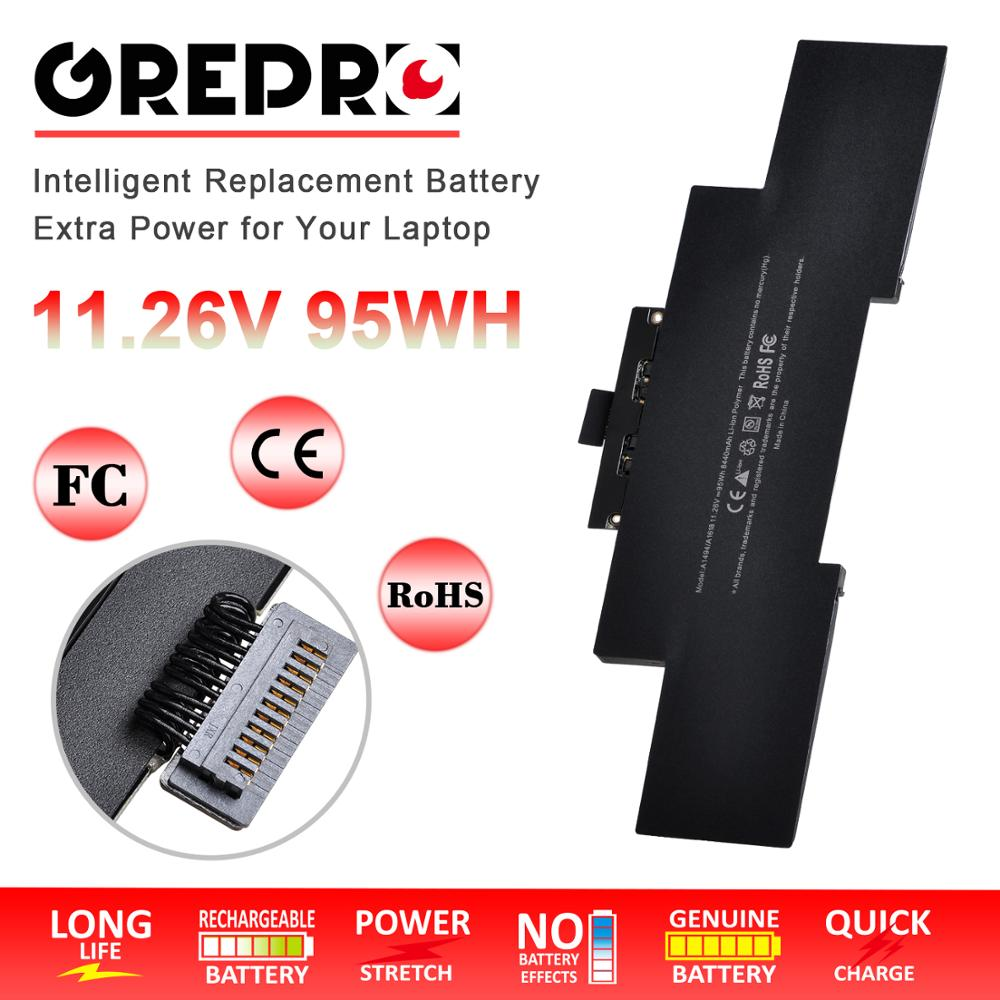 "8440mAh A1494 A1618 batería de repuesto para Apple MacBook Pro 15 ""pulgadas Retina A1398 tarde 2013 a mediados de 2014 a principios de 2015 MGXC2 MGXA2"