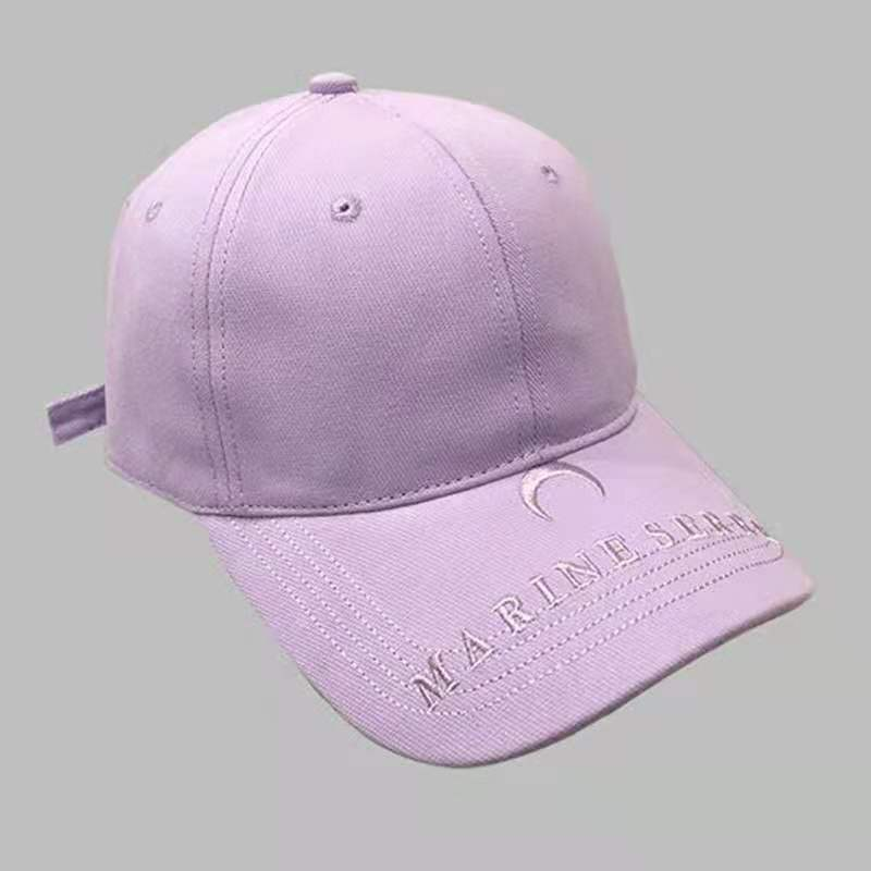 Small Letter Embroidery Female Caps Simple And Versatile Ladies Baseball Caps Students Street Fashio