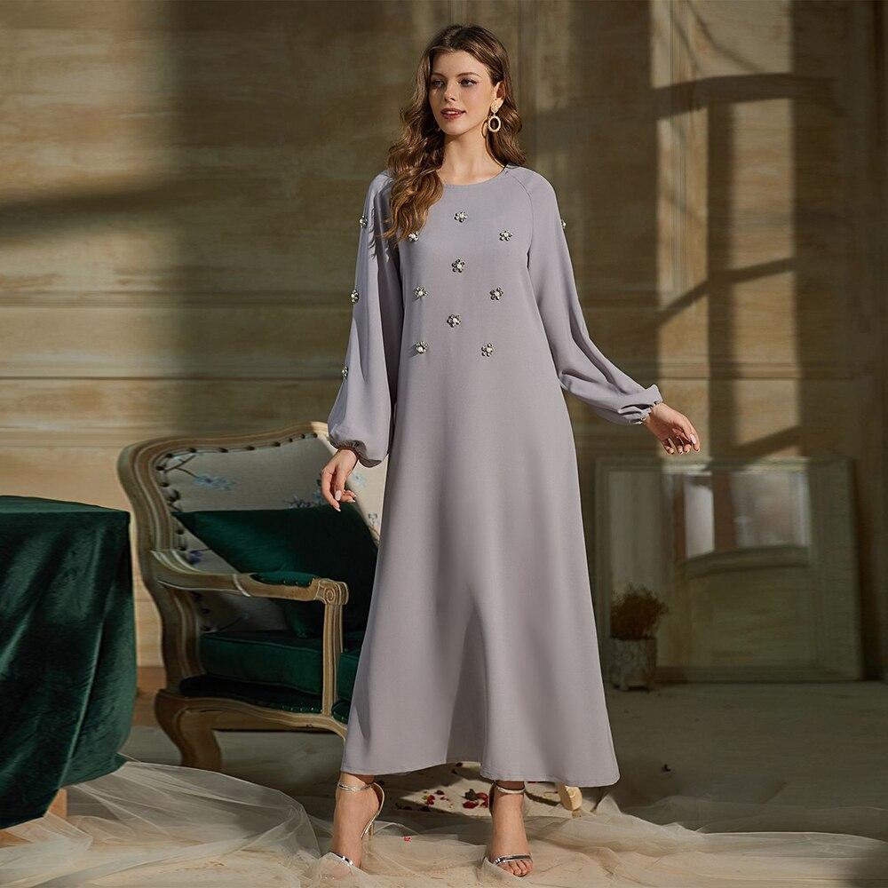 العباءة دبي تركيا الأزياء بنت الحجاب اللباس قفطان الإسلام الملابس العبايات للنساء Vetement فام رداء Musulman القفطان