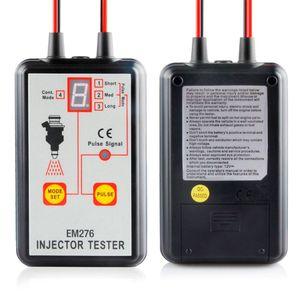 Image 3 - 1 комплект тестер автомобильного топливного инжектора EM276 инструмент для сканирования топливной системы инжектор анализатор автомобиля инструменты для диагностики автомобиля с 4 импульсными режимами