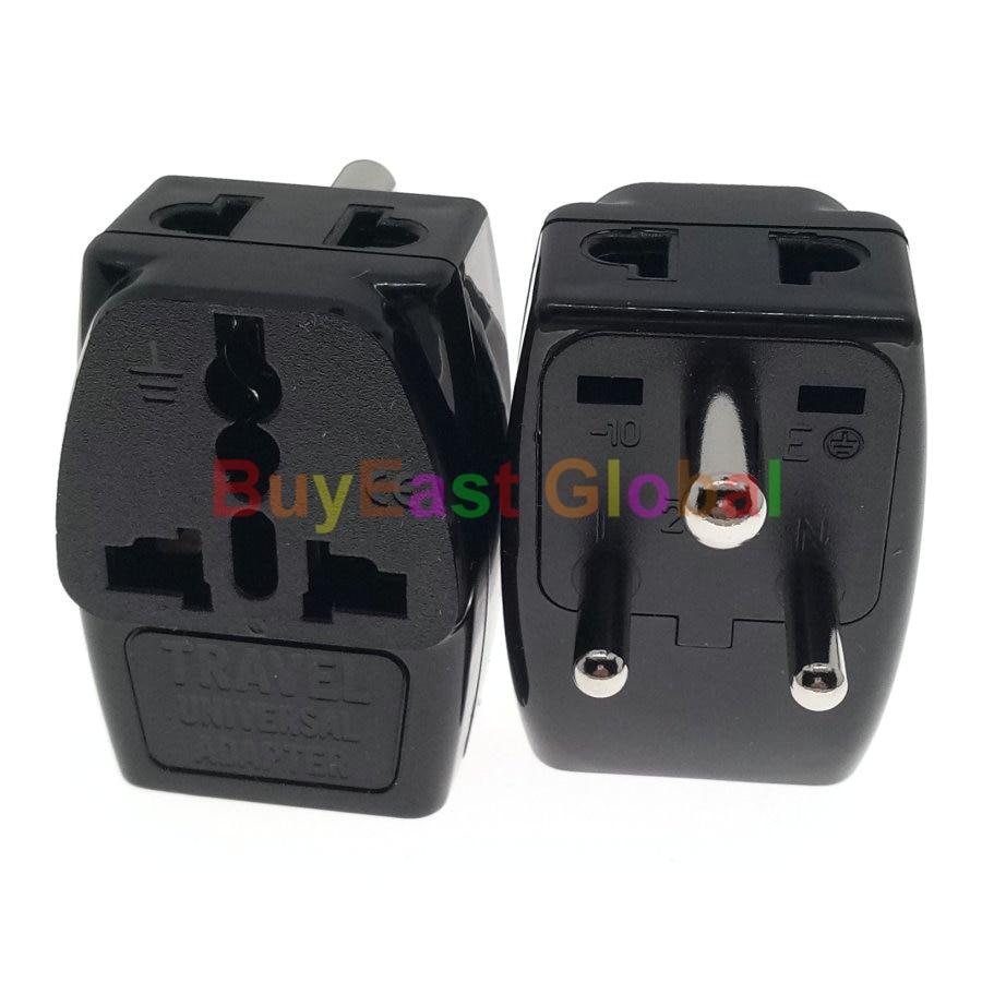 (Paquete 2) 3 en 1: adaptador de enchufe eléctrico de 3 vías...