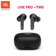 Original JBL LIVE PRO+ TWS Bluetooth Wireless Earphone Sports Earbuds Deep Bass Headphones Waterproo