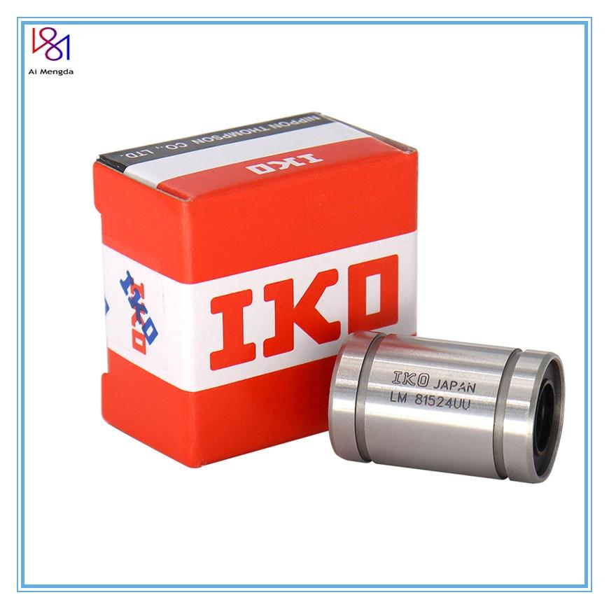 Ai Mengda Genuine IKO LM8UU Long Rod Shaft 8X15X24MM 3d Printer Linear Bearing For Reprap Anet A8 Prusa I3 3d Printer