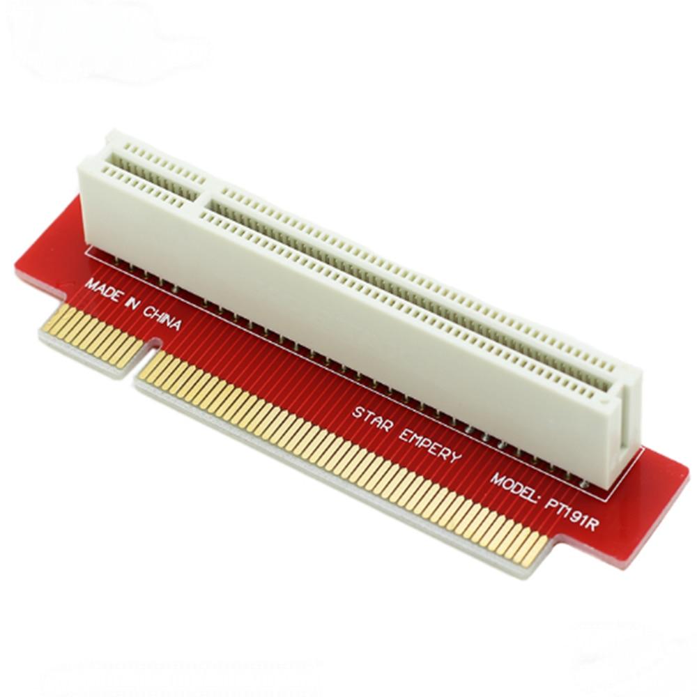 PT191 1U 90 градусов 32 бит PCI Riser Card Rackmount Gold Finger