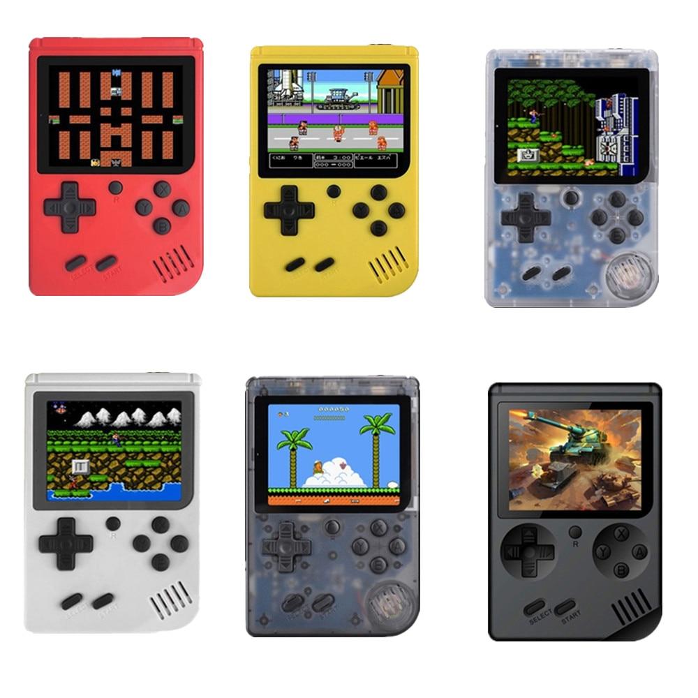 MINI portable retro handheld game 8 bit 168 Games children boy nostalgic players video game console for Child Nostalgic Player