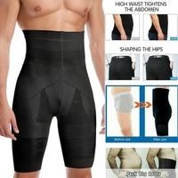 men slimming body shaper waist trainer high waist shaper control panties compression underwear abdomen belly shaper shorts