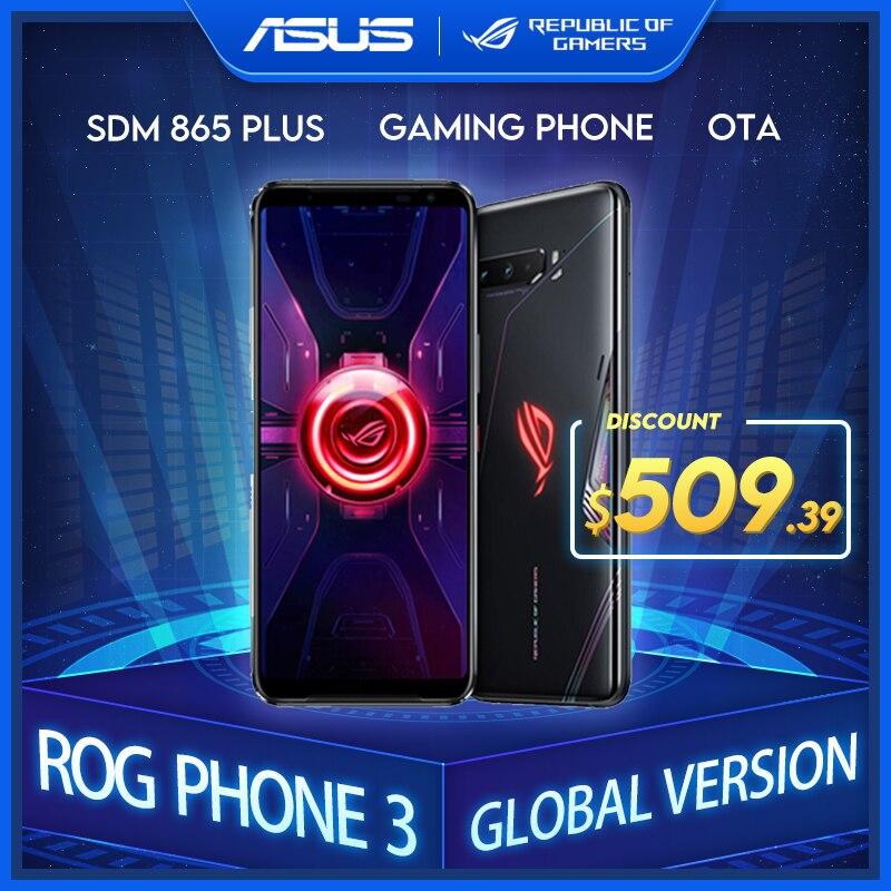 ASUS – Smartphone Original ROG Phone 3, Version globale ZS661KS 5G, Snapdragon 865Plus, NFC, Android Q OTA, téléphone de jeu, mise à jour