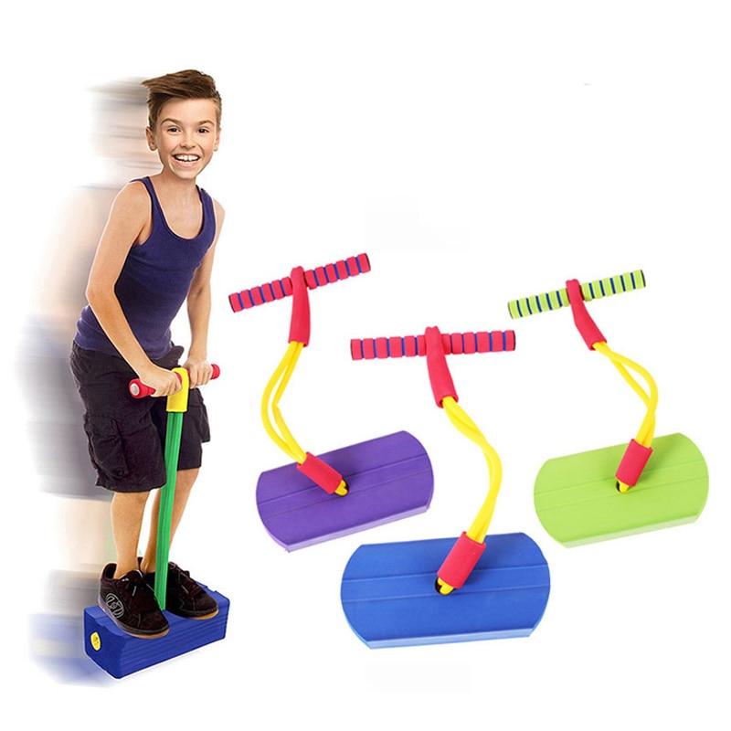 Foam Pogo Stick Jumper For Kids Indoor Outdoor Fun Sports Fitness Toddler Boys Girls Children Games Sensory Toys Giochi Bambini