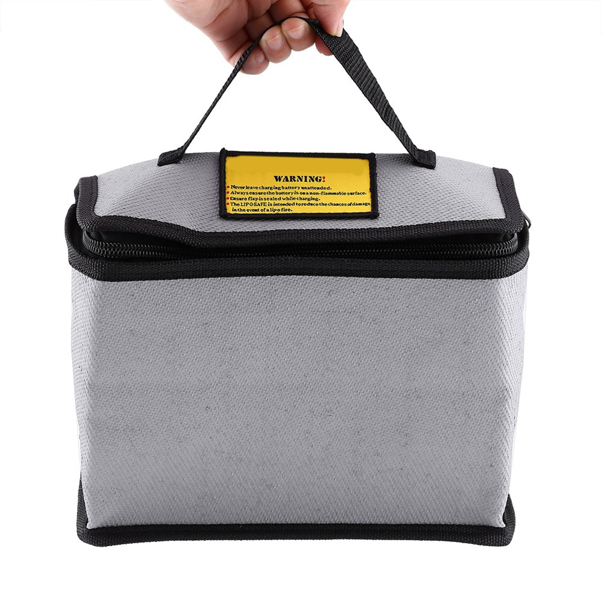Fireproof LiPo Battery Safety Storage Bag Glass Fiber Protecting Battery Pouch Portable Phone Power Charging Package Sack