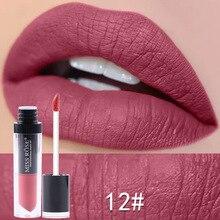 Makeup liquid Lipstick Cosmetics Matte Lipstick Waterproof Long Lasting Sexy Red Lip Gloss Lip Penci