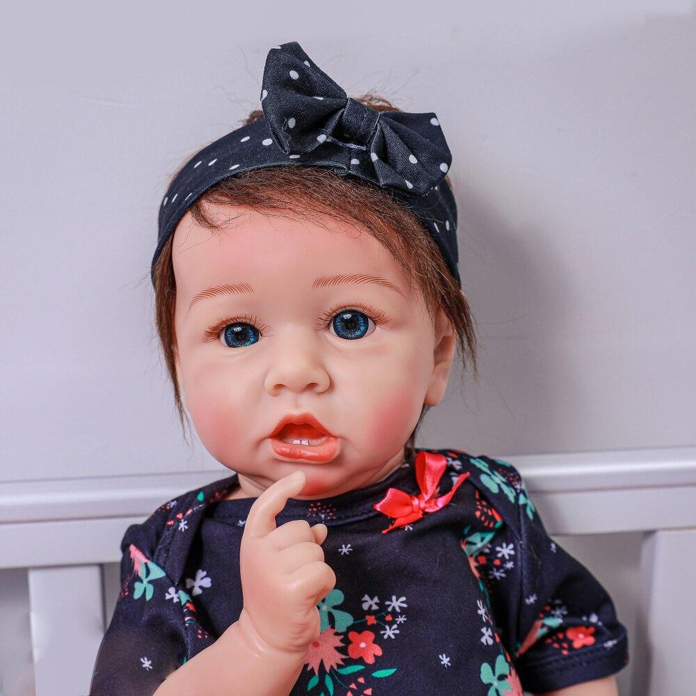 Adorable Lifelike Reborn Baby Doll with Teeth 20