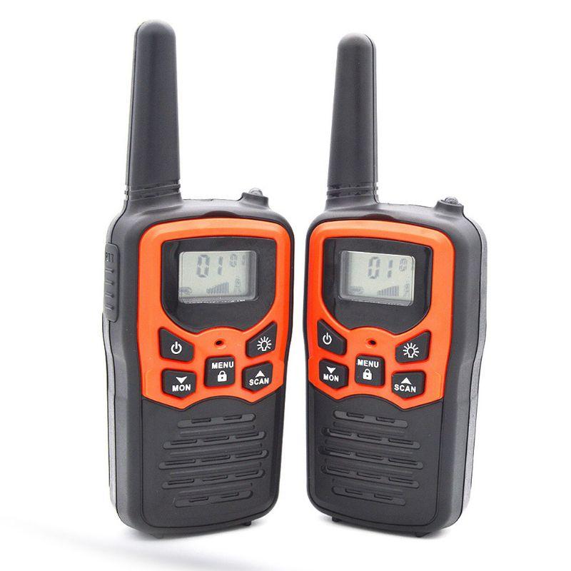 Walkie Talkies for Adults Long Range 6 Pack 2-Way Radios Up to 5 Miles Range in Dropship
