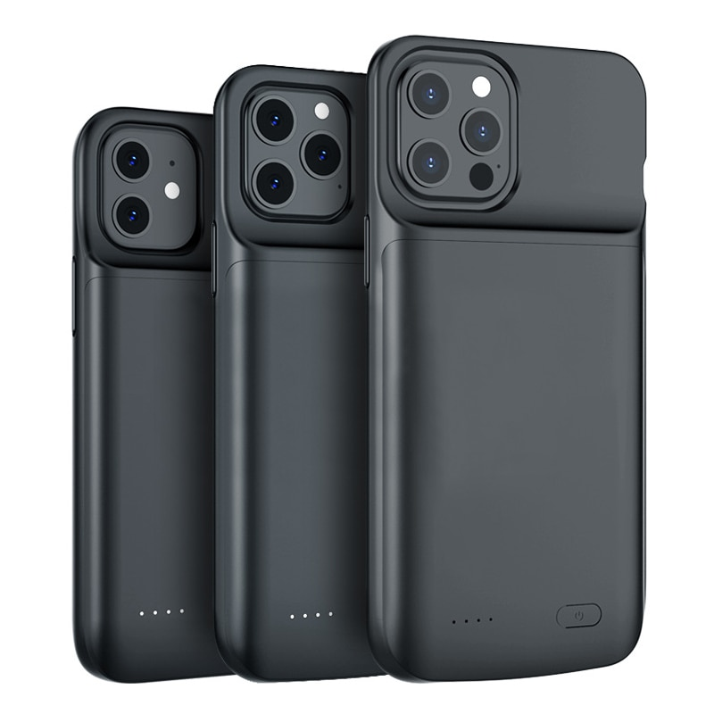 Portable Battery Charger Case for iPhone 12 pro Max 12 mini 12 Power Bank Case External Battery Cove
