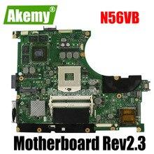 N56VB Carte Mère Rev2.3 GT740 2G Pour For For For Asus N56VZ N56VV N56V N56VJ Ordinateur Portable carte mère N56VB Carte Mère N56VB Carte Mère test OK