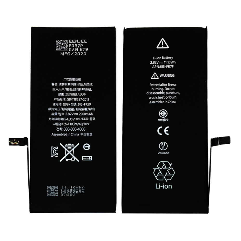 100% Original Smart Phone Battery For Apple Iphone 7G 7Plus 8G 8Plus X XS XSMax XR 11 11Pro 11Pro Max Cell Phone Repaired Parts enlarge