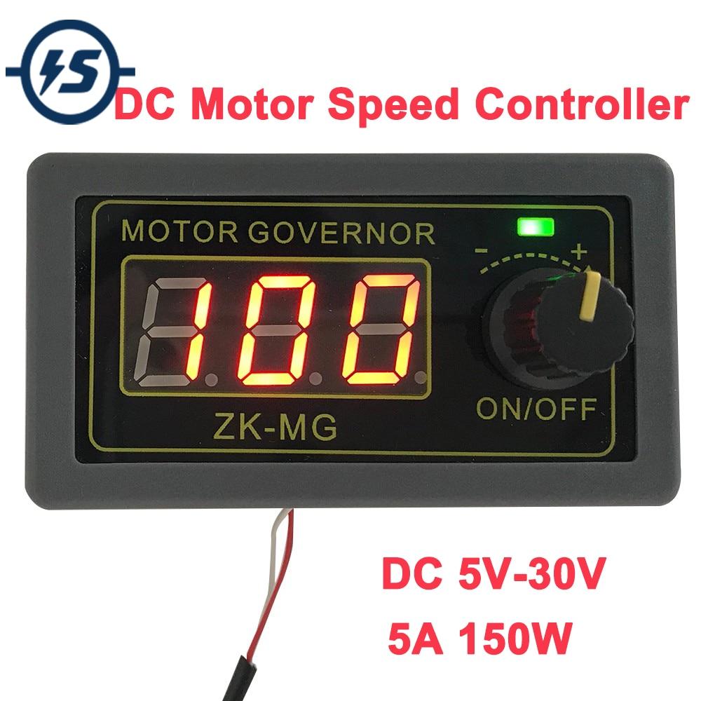 High-Power PWM DC Motor Speed Controller 5V 12V 24V 150W Signal Generator Driver Module Speed Regulator