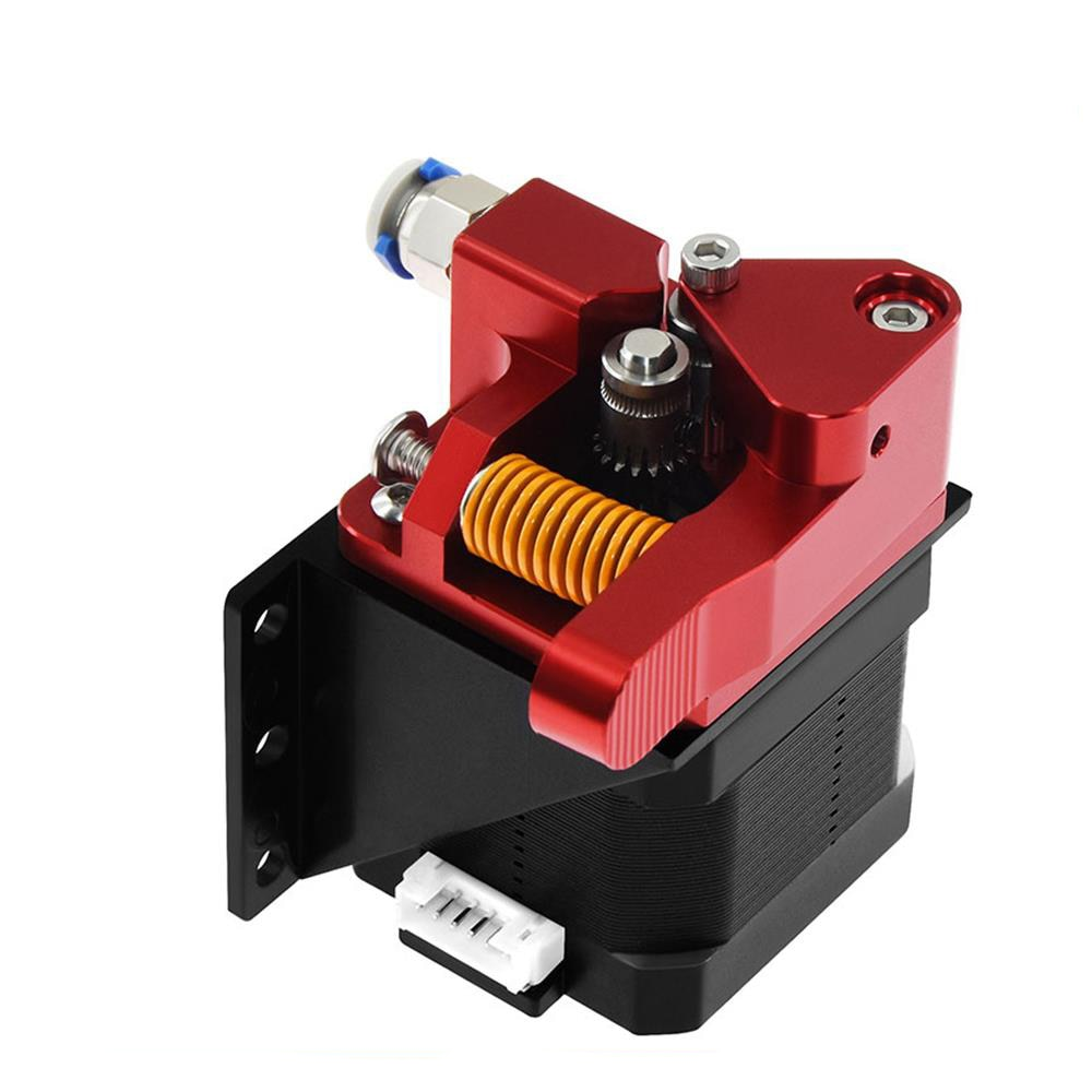 Aluminium Upgrade Dual Getriebe Mk8 Extruder für Extruder CR10 CR-10S PRO RepRap 1,75mm 3D Teile Stick Feed doppel pulley