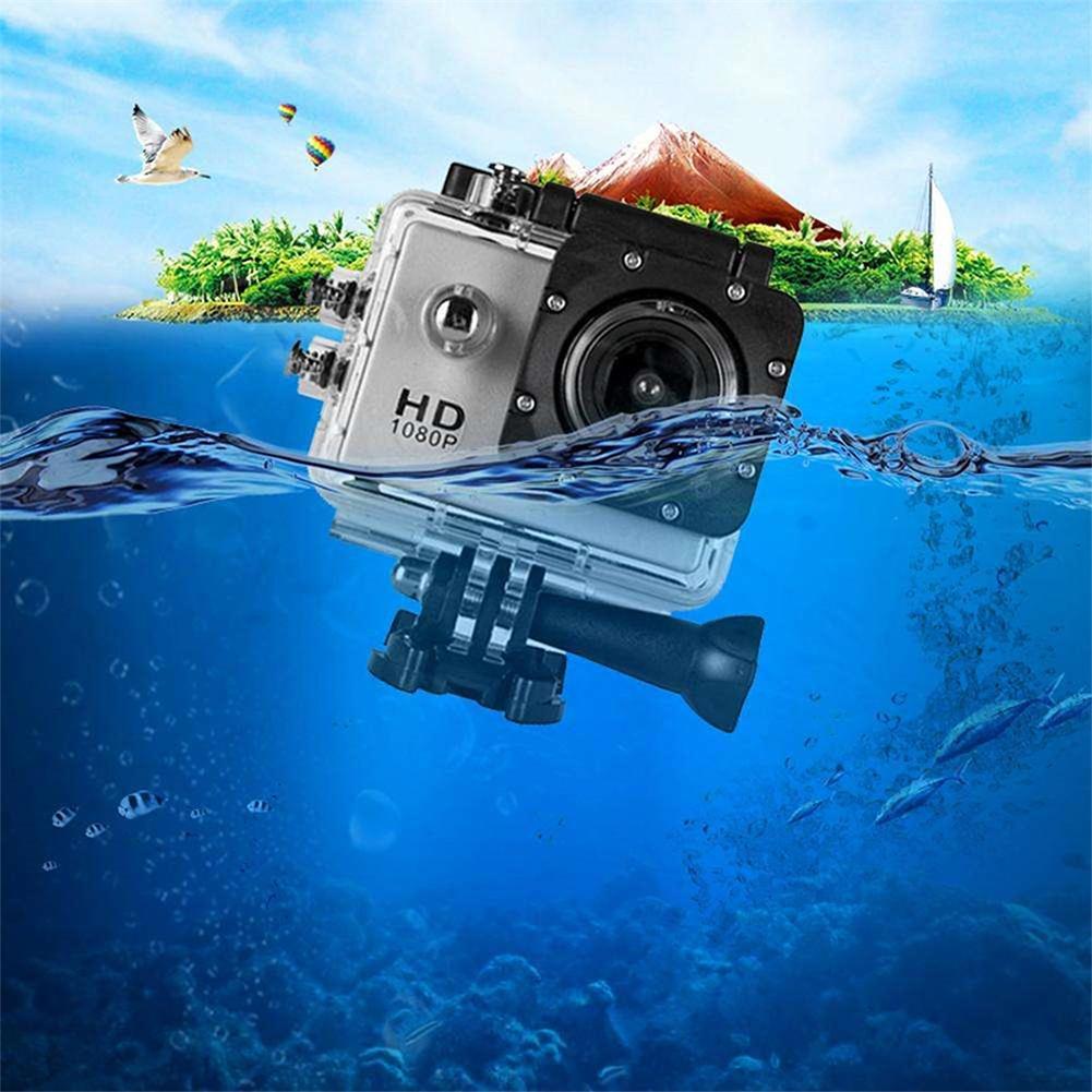 Original Für GoPro HERO 7 Silber Wasserdichte Digital Action Kamera Touchscreen 4K HD Video 10MP Fotos Für Pro hero7 Sport Cam