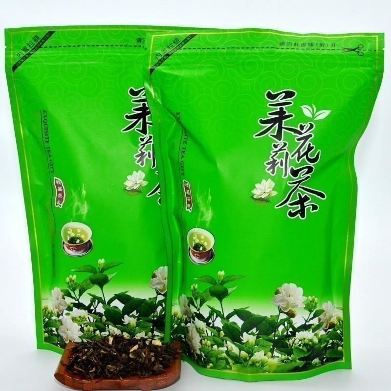 R 250g China de calidad tradicional artesanal jazmín flor té AA té verde orgánico chino Alta Montaña Té Jazmín nube