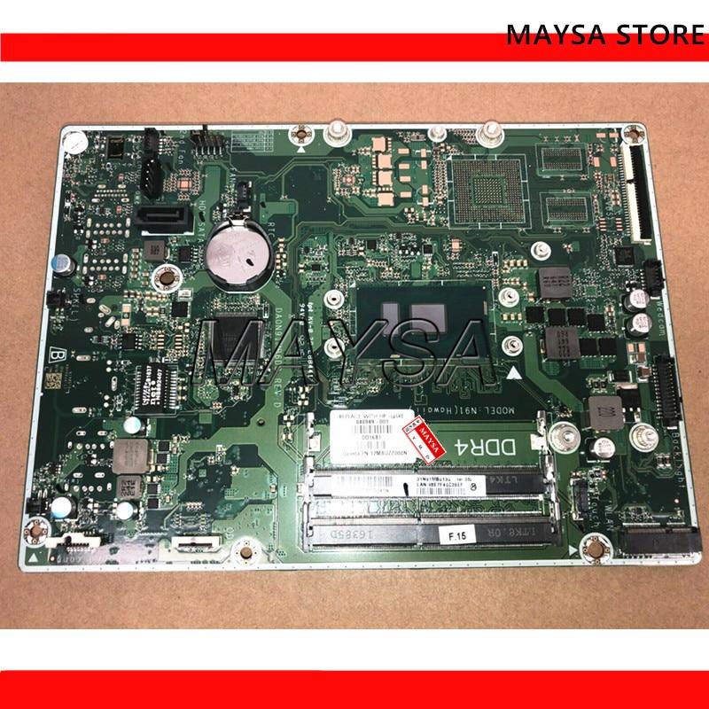 848949-001 848949-601 DA0N91MB6D0 para HP 20 22 24 serie I3-6100U placa base