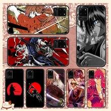 Anime Rurouni Kenshin Phone case For Samsung Galaxy Note 4 8 9 10 20 S8 S9 S10 S10E S20 Plus UITRA U