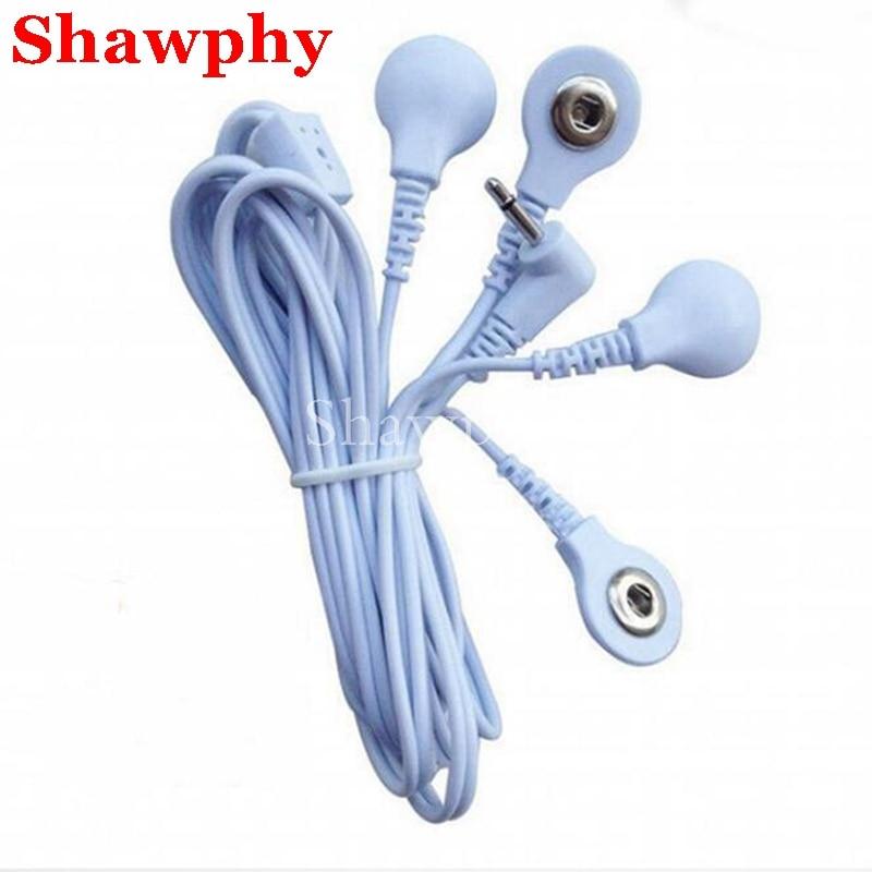 Cable de plomo para electrodos de electroterapia, Cable de conexión para masajeador...