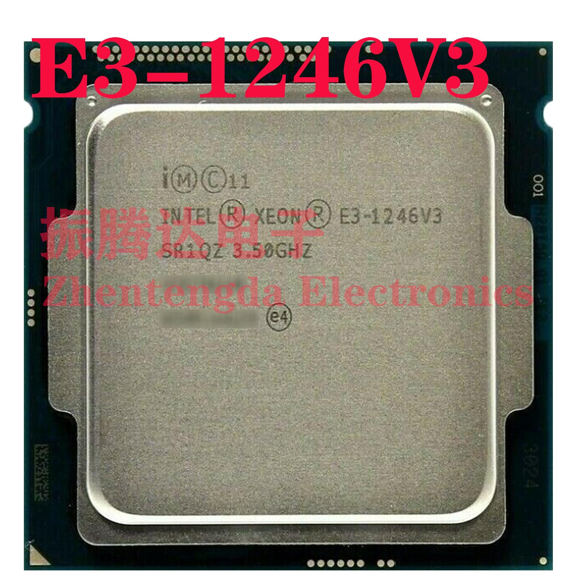 Intel Xeon E3-1246 v3 3.5GHz 8MB 4 Core 8 Thread LGA-1150 E3-1246V3 CPU Processor