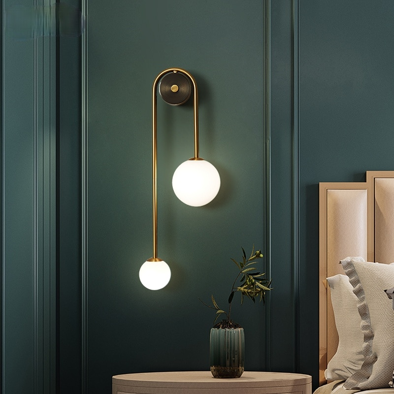 luminaria de parede moderna g9 iluminacao de cabeceira para estudo sala de jantar