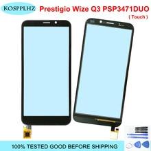 Sensor de pantalla táctil para prestigio wize Q3 psp3471duo psp 3471 duo psp 3471 piezas de reparación de Panel de pantalla táctil (sin pantalla LCD)