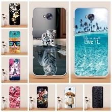 Funda para Asus Zenfone 4 Selfie ZD553KL funda de 5,5 pulgadas de silicona suave TPU para Asus Zenfone 4 Selfie ZD553KL ZB553KL funda