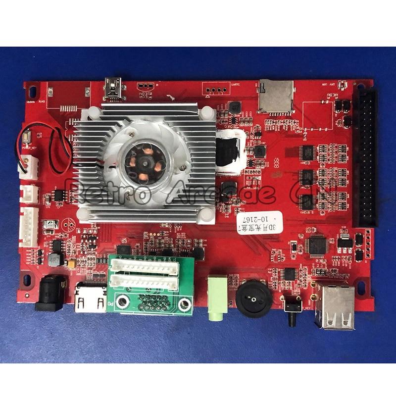 Placa base 3D Pandora Key 7 PCB 2177/2323 103-3d en 1 para Retro bartop arcade mini máquina de juego de pantalla Dual de 10,1 pulgadas 2 jugadores