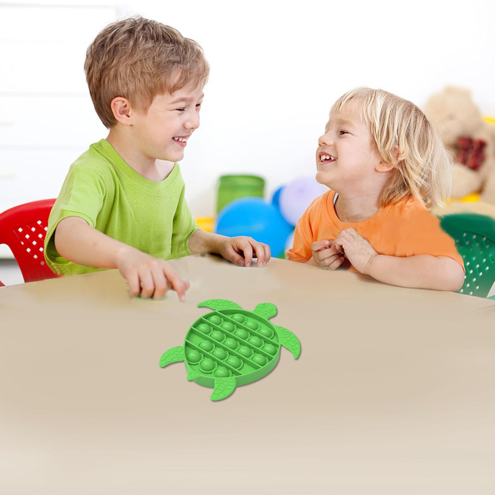 3 Pcs Stress Relief Toy Decompressive Bubbles Sensory Toys For Children Adults Office L50 enlarge