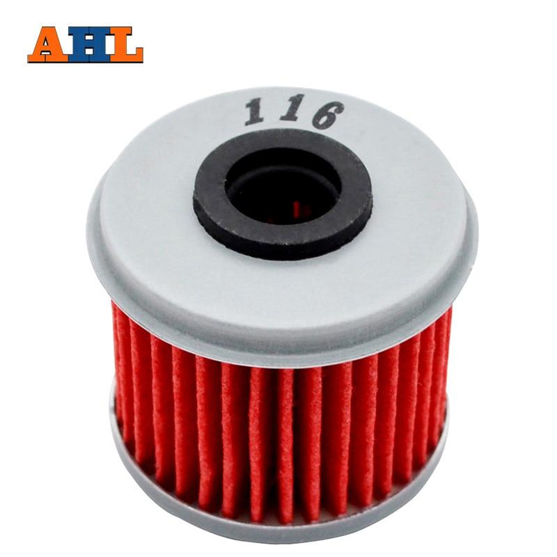 AliExpress - AHL 116 1/2/4pc Motorcycle Cartridge Oil Filter for Honda CRF150 CRF250 CRF450 CRF450x CRF450Rx CRF450RWE CRF450R CRF250RX