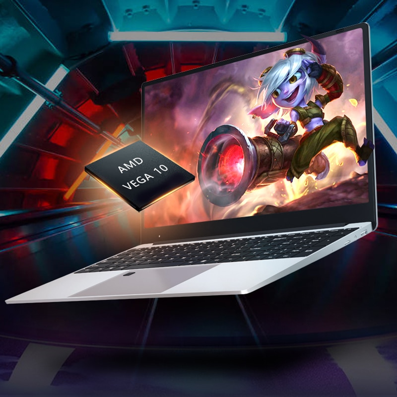 MAX RAM 36GB Rom DDR4 2TB M.2 SSD Ultrabook Metal Laptop 2.4G/5.0G Bluetooth Ryzen 2700U game Laptop for business students