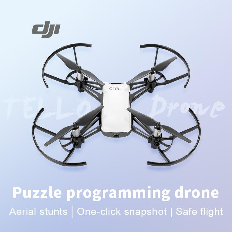 DJI RYZE تيلو Drone Quadcopter DJI رحلة التكنولوجيا تيلو App تحكم التوافق رمي و الذهاب 8D تقلب ترتد وضع
