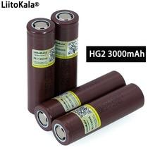 100% Nieuwe Originele HG2 18650 3000 Mah Batterij 18650HG2 3.6V Ontlading 20A Gewijd Voor Hg2 Power Oplaadbare Batterij
