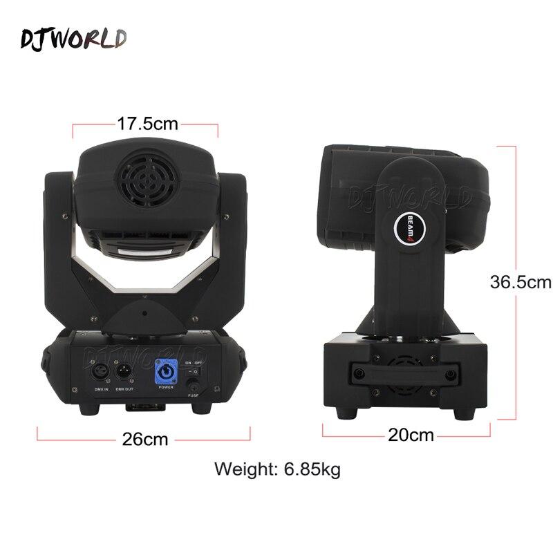 Djworld 150W LED 4x25W Super Beam Moving Head Light 14% 2F16CH Для DJ Disco Home Party Stage Super Beam Moving Head Light