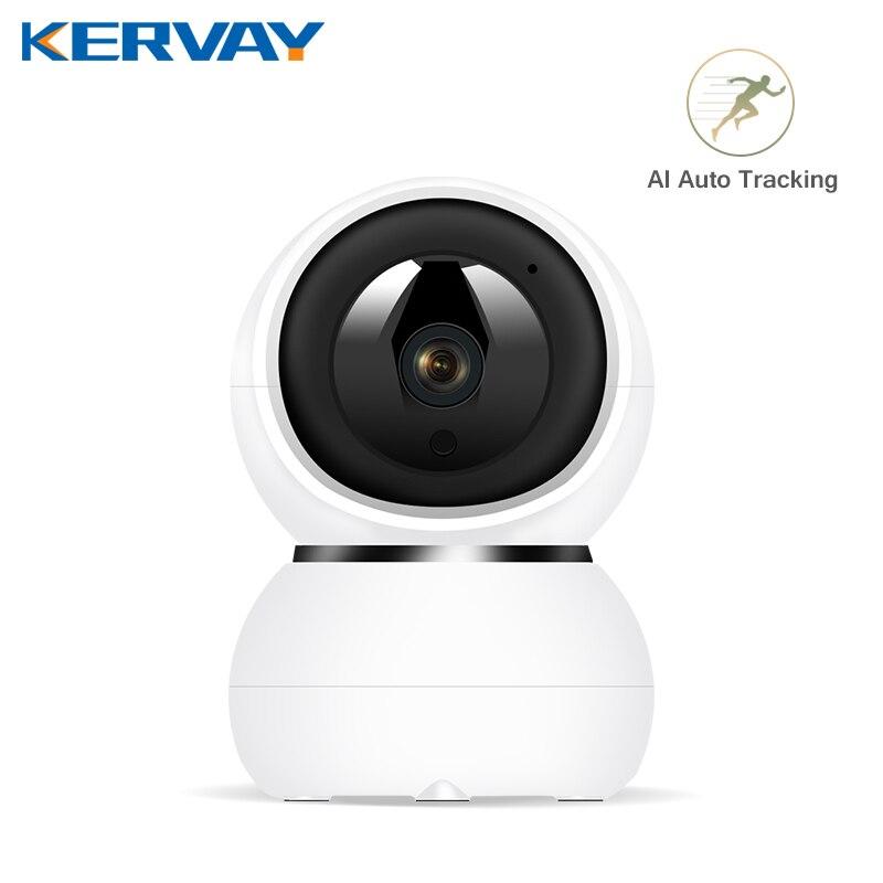 Ip-kamera 1080P Sicherheit Kamera WiFi Drahtlose CCTV Kamera 2MP Hause Überwachungs indoor Auto Tracking P2P Baby Monitor Pet kamera