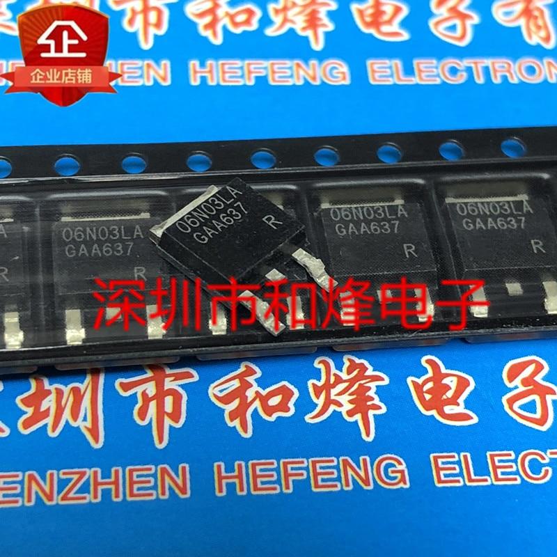 10PCS 06N03LA IPD06N03LAG ZU-252 25V 50A 100% Neue & original