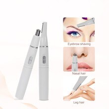 Electric Shaving Nose Hair Trimmer Eyebrow Trimmer 2 in 1 Shaver Trimmer Men Shaving Hair Removal He